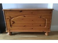 WANTED - Pine Blanket Box