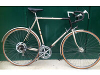 63cm XXL Raleigh Medale vintage racer racing road bike large frame