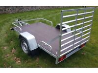 NEW TRAILER QUAD, GOLF BUGGY TRAILER / TRANSPORTER 8,2 X 4.10 RAMP only 770 inc vat
