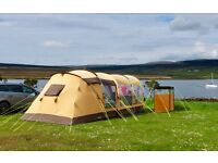 Outwell Lanai Reef tent (2012) plus Front extension, carpet and footprint.