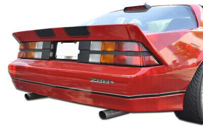 82-92 Chevrolet Camaro Iroc-Z Duraflex Rear Body Kit Bumper!!! 106450 89 Camaro Body Kits