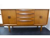 1960s Harris Lebus Teak Sideboard with Drawers