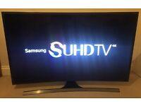 "**CURVED** Samsung JS8500 48"" 8 Series SUHD 4K Smart 3D TV -FREEVIEW/SAT HD -1900PQI - WARRANTY"