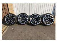 "MINI Clubman JCW 19"" Alloy Wheels with tyres"