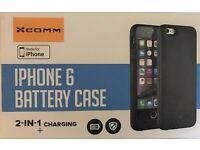 iPhone 6/ 6s Plus Battery Case, Brand New!, black