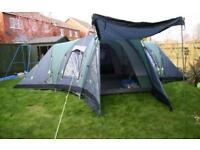 Outwell Hartford XL four room 9-13 man family dome tent
