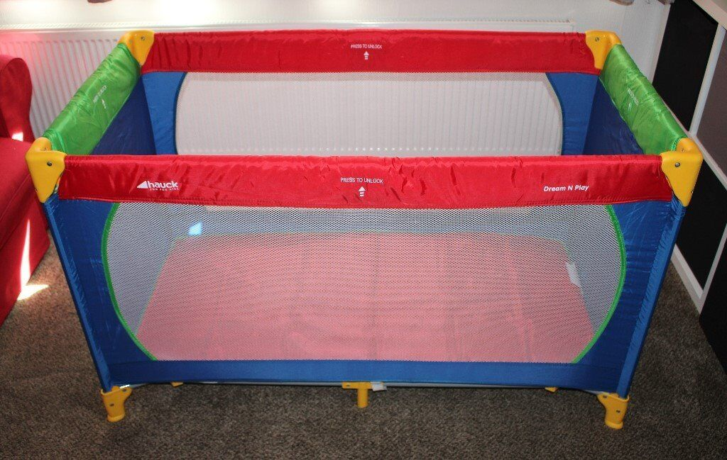 Child's travel cot complete with mattress | in Formby, Merseyside | Gumtree