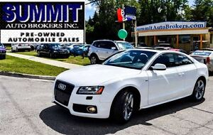 2012 Audi A5 2.0T S-LINE | AWD | CAR-PROOF CLEAN | LOADED