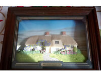tom thumb limited edition framed cottage