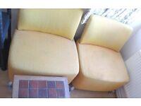 2 free sofa chairs
