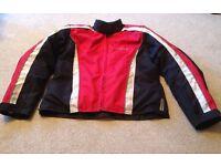 WEISE light weight textile summer motorbike jacket