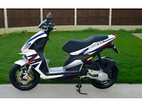 Stunning & immaculate 2015 Piaggio NRG Hyper-2-Pro Only 1800 miles from new UK DEL & PART EX AVAIL