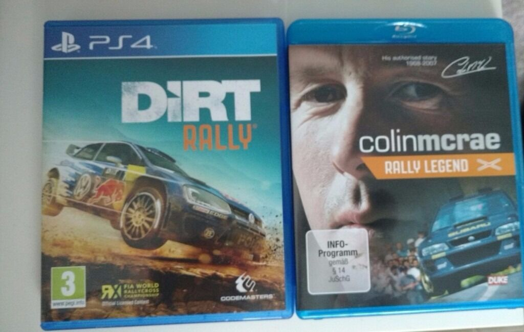 PS4 Dirt Rally Great Game