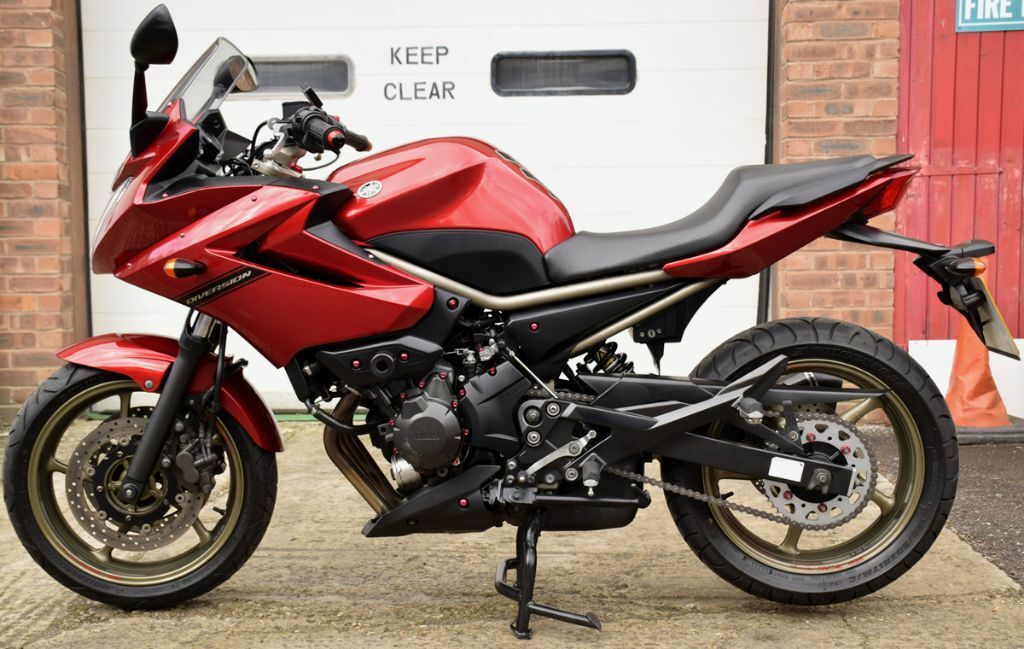 Exceptionel 2011 YAMAHA XJ 6 S DIVERSION RED MINT CONDITION XJ600 | in Stroud  DO14