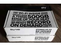 2 x Sky+ HD Boxes