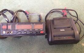 Cygnus automotive taxi meter and printer