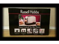 Russell Hobbs Classic Coolwall 2 Slice Toaster ( New )