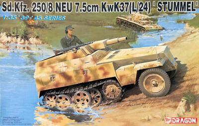 1/35 Dragon 6102: SdKfz.250/8 7.5cm KwK37L/24 Stummel Halftrack