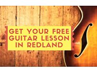 Get a FREE Guitar Lesson in Redland - Make learning guitar FUN!