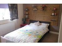 IKEA Malm double bed, pocket sprung mattress, large slatted headboard - price cut!