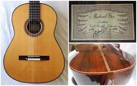 Concert guitar Michael Gee 1986