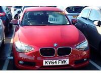 BMW 1 SERIES 116d SE (red) 2014