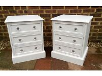 Pair of Solid Pine Bedside Drawers ... £75 .. Possible Delivery Available