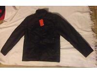 Twisted faith leather jacket