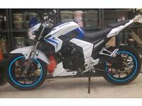 Lexmoto venom 125cc motorbike 17 red