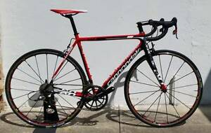 2014 Cannondale Supersix Evo. M. Red 22. Mavic R-SYS! Dulwich Hill Marrickville Area Preview