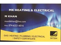 Gas Safe & Electrical Engineer Boiler Servicing Repairs Installations CP12s