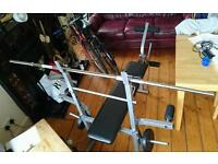 Weight Training Bench Adjustable