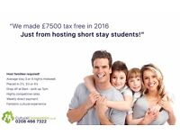 Host Families required for Short Term Students!!!   Earn up to £260+ PW   Beckenham / Bromley