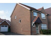 4 Bedroom Detached House with Private Garden and Garage