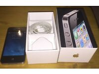 Apple iPhone 4 - 16GB - Black (Unlocked to any network)