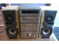 technics hi fi stereo system