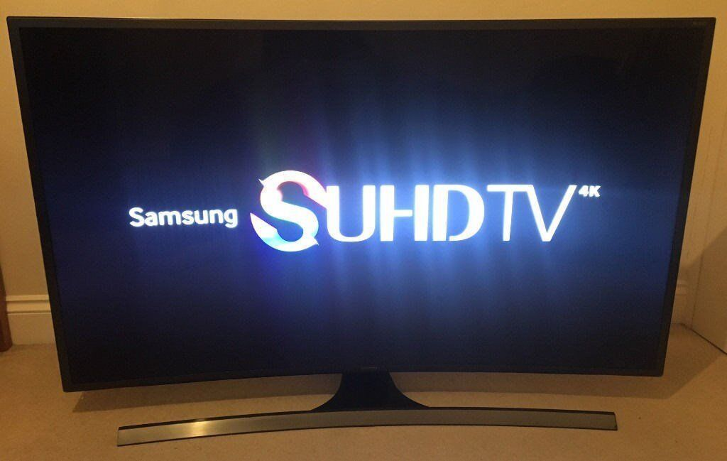 48in Samsung CURVED 4K SUHD SMART 3D 8 SERIES TV