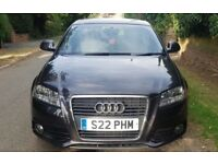 AUDI A3 S-LINE 2.0 TDI 170 BHP 2009 LOW MILLAGE PERFECT CONDITION OUTSIDE AND IN