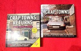 Crap towns and crap towns returns hardback books