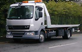 24/7 BREAKDOWN RECOVERY TOWING TRUCK OR JUMP START SERVICE CARS VANS 4X4 UK