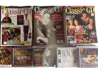 120 Classic CD Magazines and CDs