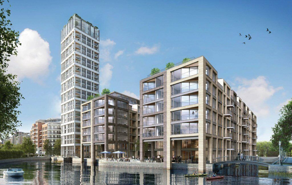 NOT TO BE MISSED! NEW 1 BED APARTMENT COMPLETING SOON IN CHELSEA SW6 IMPERIAL WHARF CHELSEA CREEK