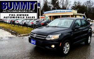 2013 Volkswagen Tiguan TSI Trendline | AWD | HEATED SEATS | BLUE