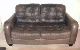 2 Seater Leather Sofa..