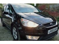 Ford Galaxy 2009 1.9 Diesel, PCO Registered, NEW ENGINE FITTED WITH 6M WARRENTY,7500 MEALLEGE ONLY