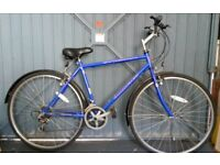 Road bike with 5+ gears