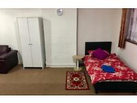 SOUTHALL SHARED LARGE ROOM AVAILABLE WITH NEW FURNITURE
