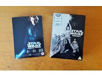 Star Wars I-VI in 2 box sets