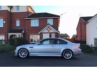 2003 Facelift BMW M3 SMG FSH Red Leather Low Mileage Sat Nav DVD NOT Golf Audi Focus RS MK1 Range