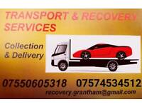 Car Transport Collection Delivery Recovery Service